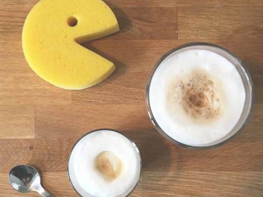 Kochblog-pacman und kaffee