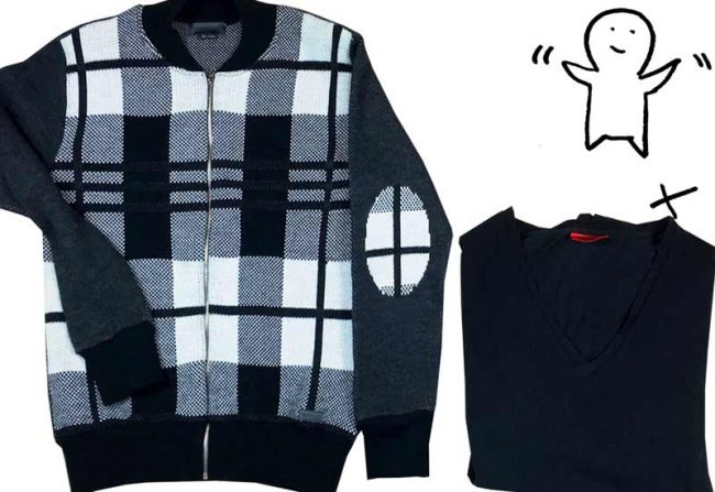 Das Herbstoutfit für den Mann - Collage Jacke und Shirt