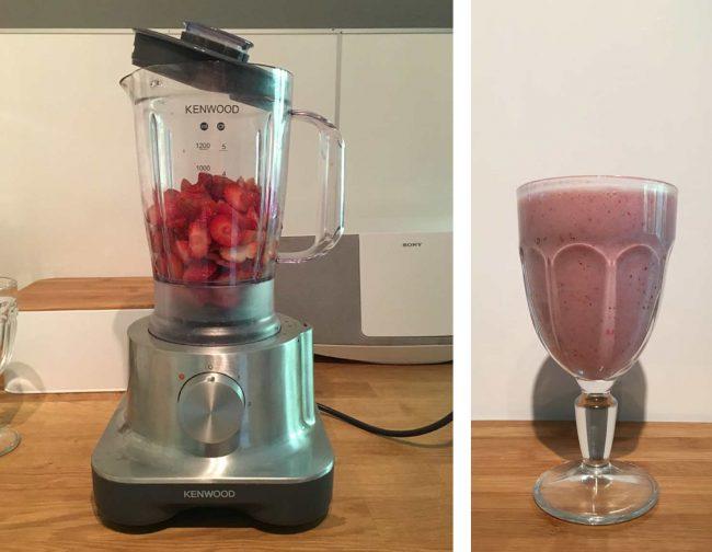 Bild Mixer -Rezept für einen Seidentofu Shake auf dem Kochblog MoKoWo