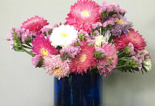 Blumenstrauß Deko auf dem Wohnblog Mokowo