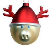 weihnachten rentierkugel