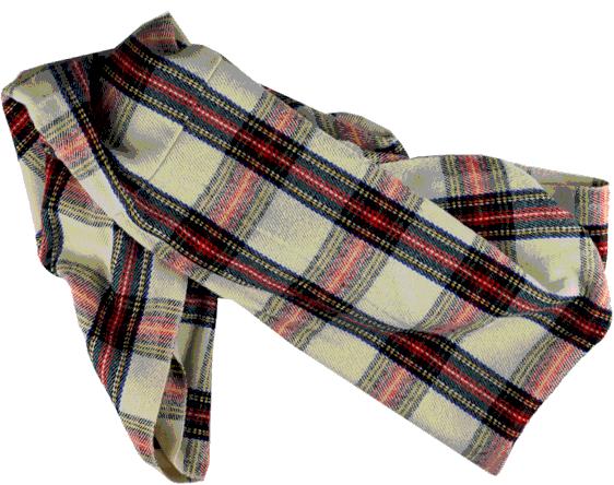 weihnachten Bild von einem Schal