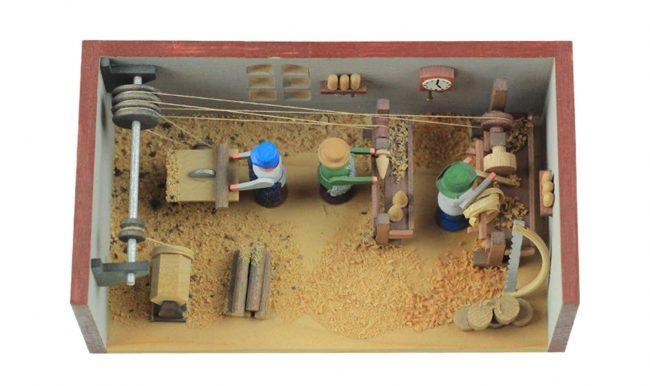 Miniatur Werkstatt - Holzkunst aus dem Erzgebirge Weihnachten Blog