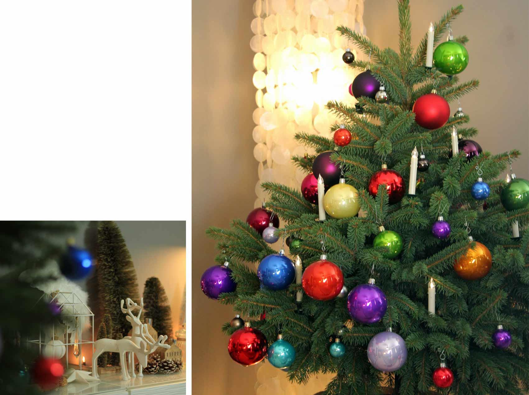 deko weihnachtsbaum bunt weihnachten mokowo komplett mokowo. Black Bedroom Furniture Sets. Home Design Ideas