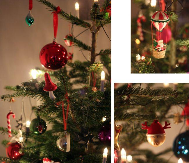 der bunte deko weihnachtsbaum mokowo weihnachten. Black Bedroom Furniture Sets. Home Design Ideas