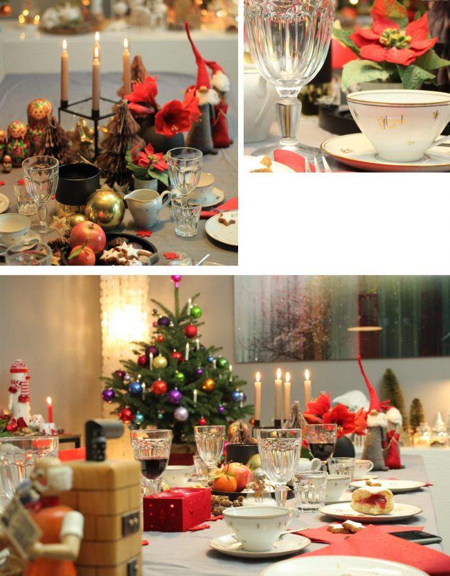 festliche tischdekoration an weihnachten - Bild von Festtafel auf dem Interior Blog MoKoWo