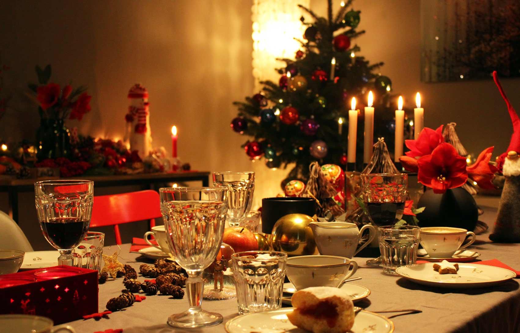festliche tischdekoration mokowo weihnachten abend mokowo. Black Bedroom Furniture Sets. Home Design Ideas
