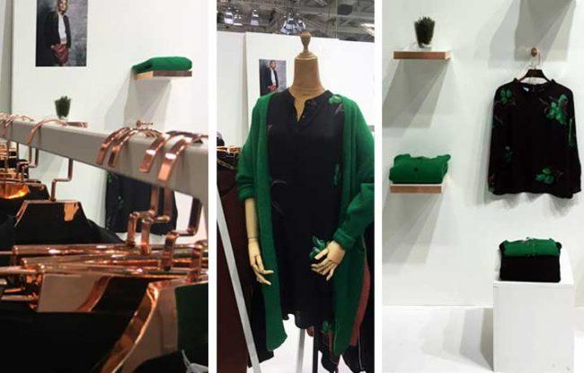 Bild von Kleidern der Brand Coster Copenhagen auf der Panorama Messe-Fashionweek Berlin