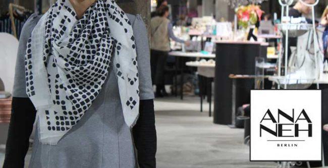 Bild Ananeh auf der Show&Order im Kraftwerk Berlin zur Fashionweek Berlin