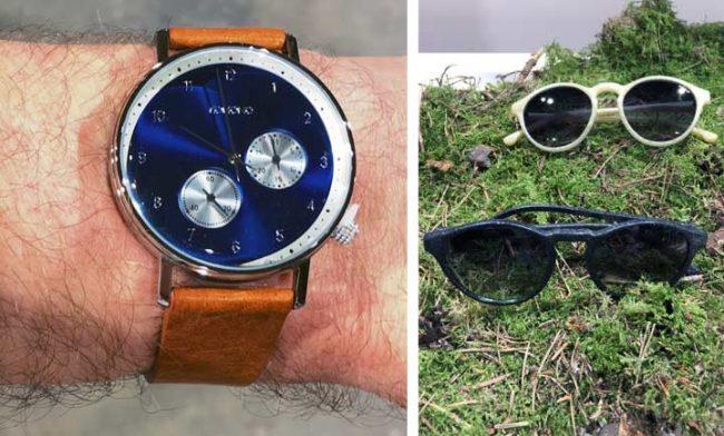 Bild von Komono Uhr und Sonnenbrillen