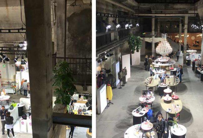 Bild von der Show&Order im Kraftwerk Berlin zur Fashionweek