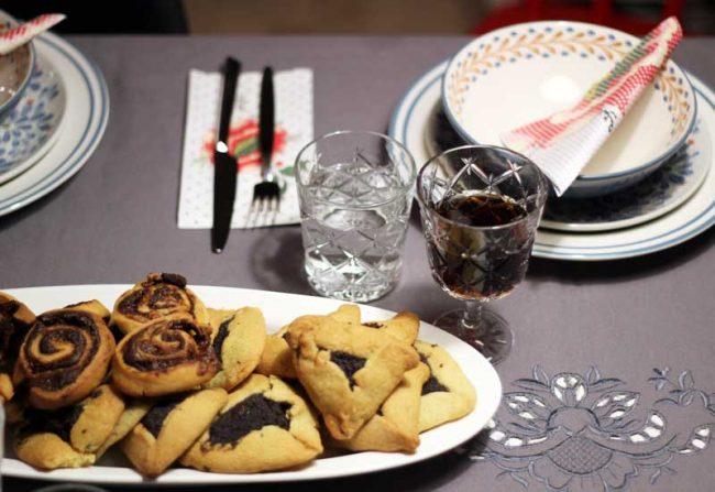 Rezept Halvaschnecken auf dem Kochblog mokowo mit Tischdekoratioen