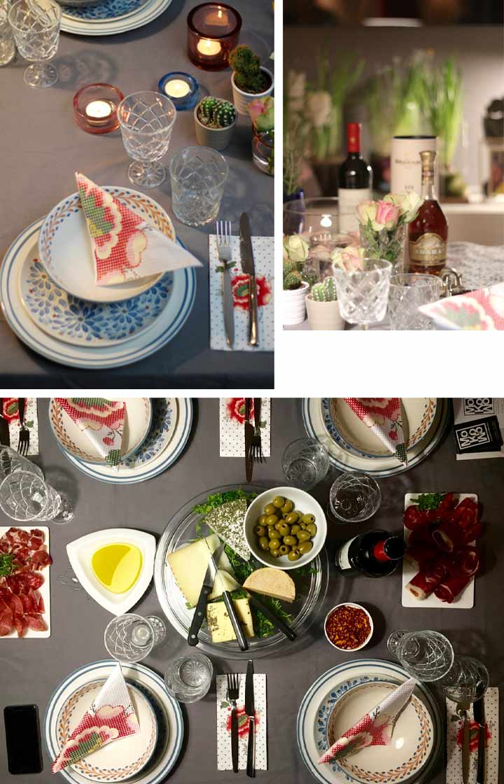 Wohnblog Interiorblog Interior Tischdeko Tischdekoration