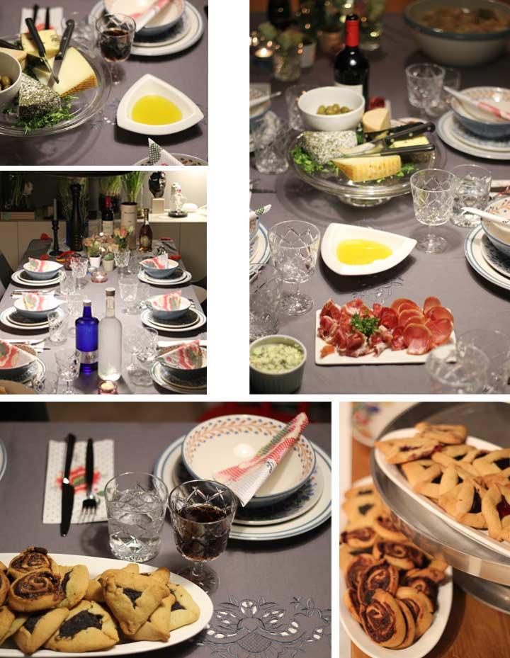 Wohnblog Interiorblog Interior Tischdeko Tischdekoration Festlich