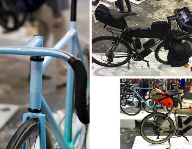 Fahrräder der Firma Fern auf der Fahrradschau Berlin