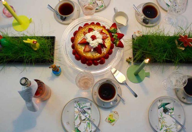 Beitragsbild zum Blogpost festliche Tischdeko zu Ostern