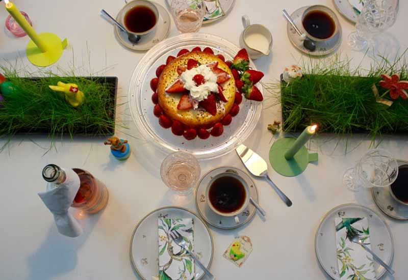 Festliche Tischdeko Zu Ostern Mokowo Wohnblog