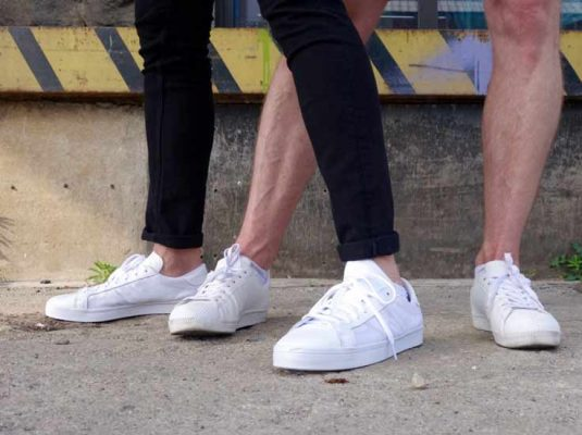 weiße sneaker adidas stan smith - männerblog