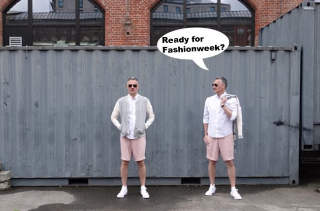 2 Personen und Sprechblase zur Fashionweek Berlin Juli 2017 auf dem Modeblog MoKoWo