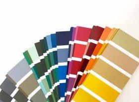 hässlichste Farbe der Welt - Pantone 448c blog lifestyle MoKoWo - Farbfächer
