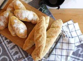 schnelles baguette backen - bild mit brot und baguettes auf dem kochblog