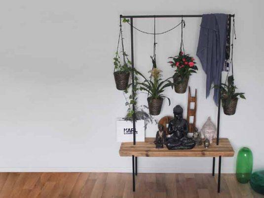 Garderobe mit Sitzbank - Beitragsbild zum Blogpost
