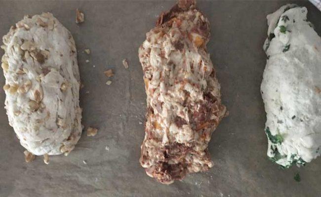 Zubereitung Baguette zum selber backen, schnelles Rezept auf dem Kochblog Mokowo