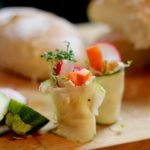 Rezept Zucchini Rolle günstiges Fingerfood Rezept