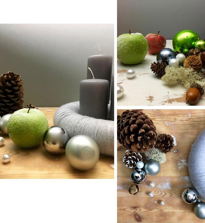schlichte adventskranz diy basteln anleitung weihnachten. Black Bedroom Furniture Sets. Home Design Ideas