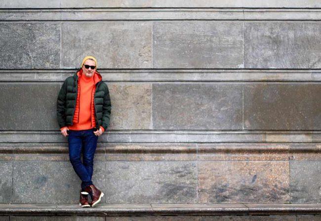 Mann mit Winterjacke - Modetrend Winter Männer 2018 - Winteroutfit, Winterkleidung Herren, Modeblog für Männer, Lifestyle Blog Berlin