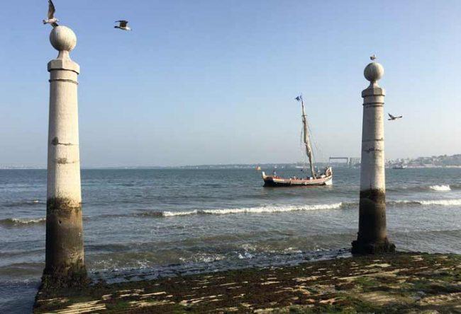 reisebericht lissabon - bild vom fluss