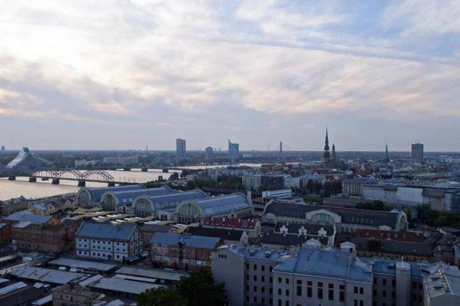blick über riga - reisebericht riga Lifestyleblog aus berlin mokowo