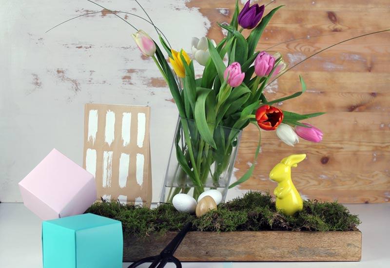 dekoideen fruehling diy blog fruehlingsdeko dekoblog mokowo. Black Bedroom Furniture Sets. Home Design Ideas