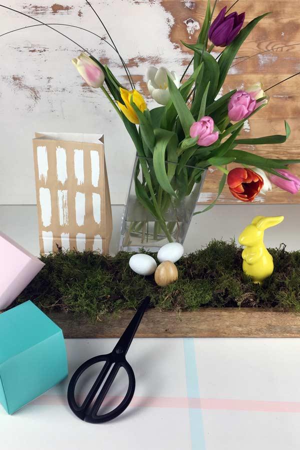 dekoideen ostern tulpenzeit fruehlingsdeko osterzeit mokowo. Black Bedroom Furniture Sets. Home Design Ideas