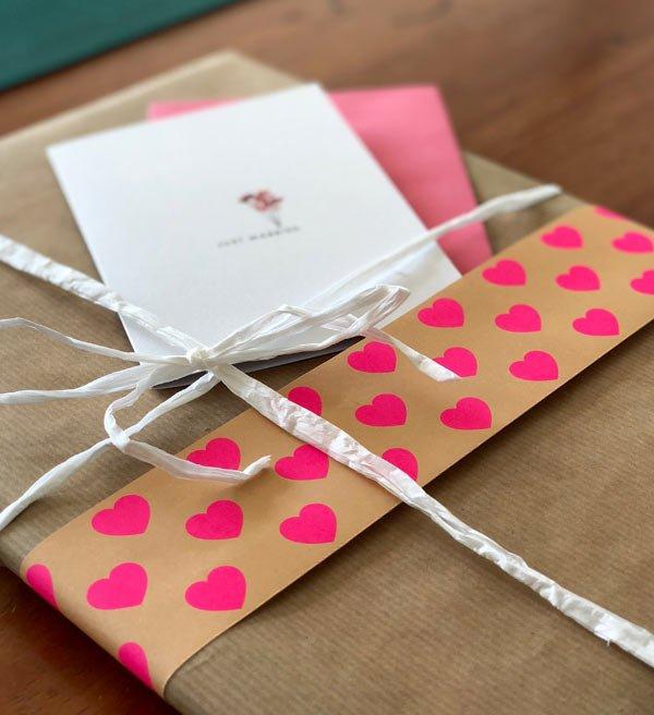 Geldgeschenk zur Hochzeit hübsch verpackt - DIY Anleitung