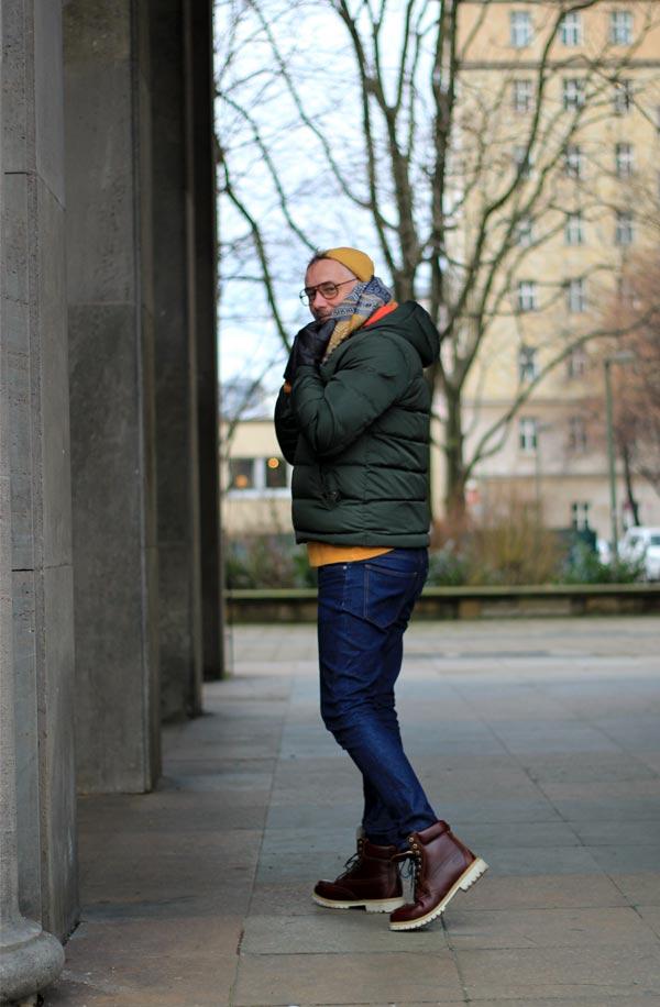 stylisches Herbstoutfit und Winteroutfit für Herren