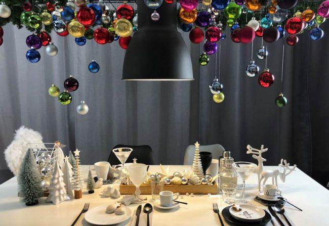 außergewöhnlicher Weihnachtsbaum - kreativ und diy hängende weihnachtsdeko