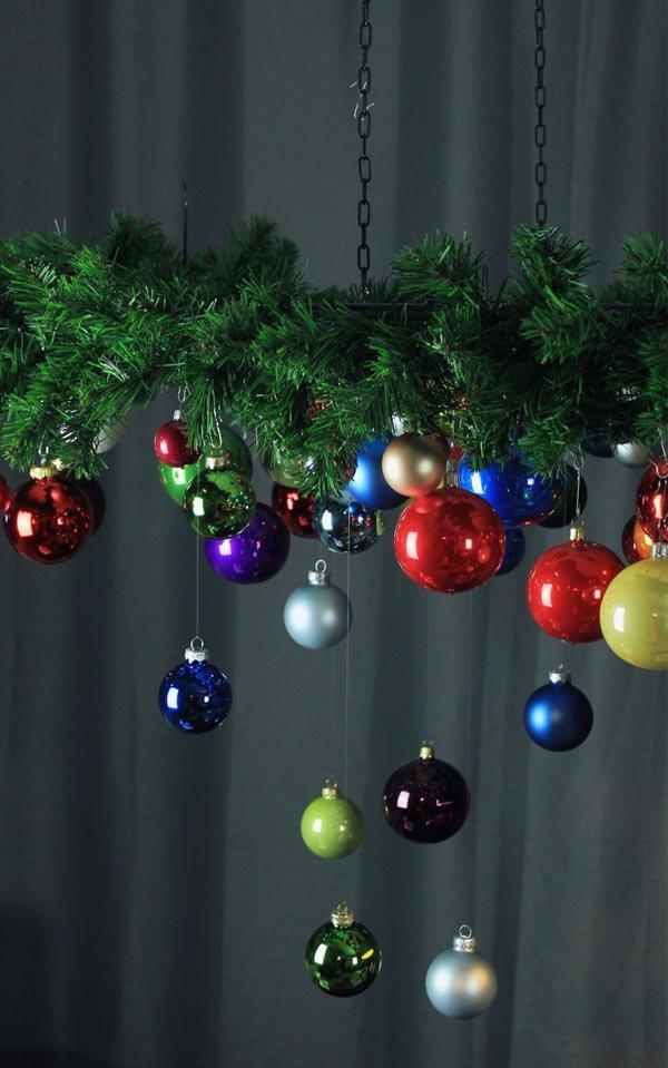 diy außergewöhnliche hängende weihnachtsdeko - weihnachtsbaum 2018