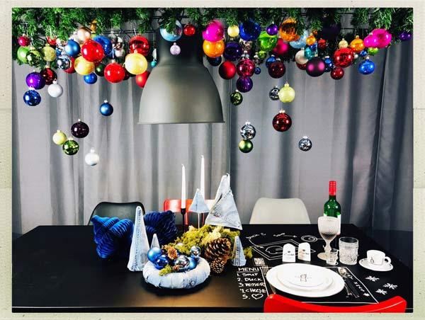 haengende weihnachtsdeko weihnachtsbaum haengend tischdeko. Black Bedroom Furniture Sets. Home Design Ideas