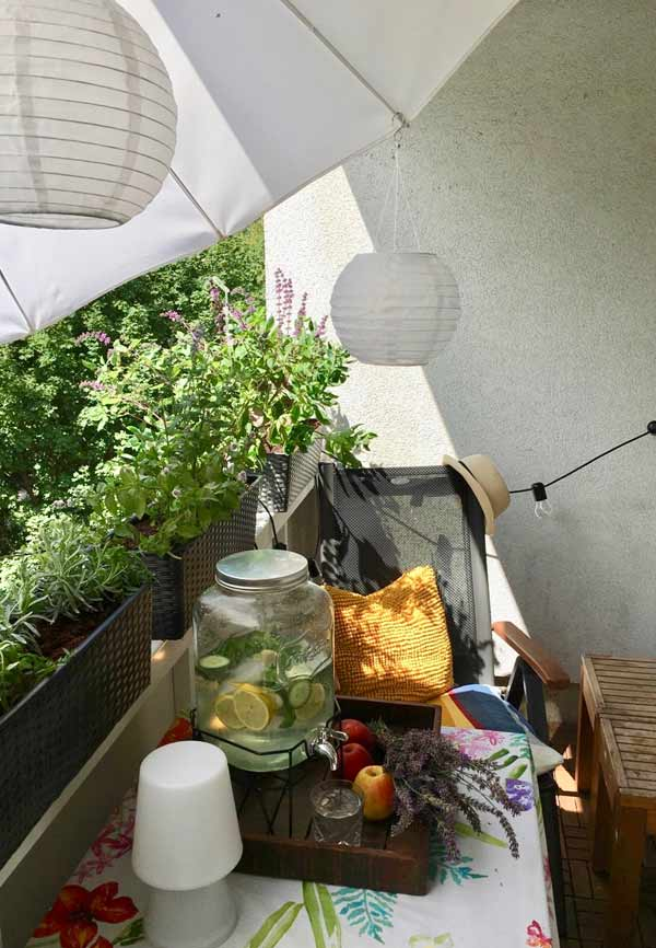 DIY Balkon Frühlingsgestaltung