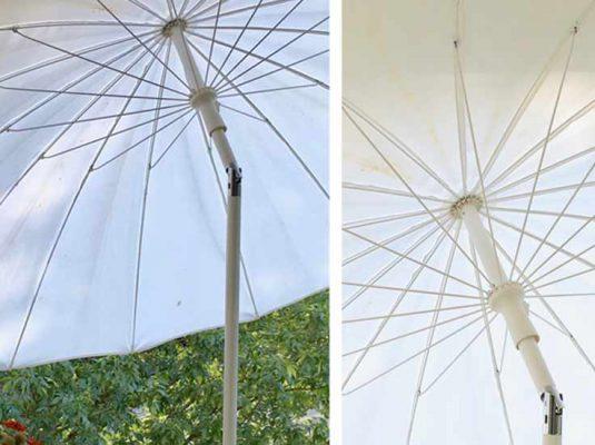 Sonnenschirm für den Balkon